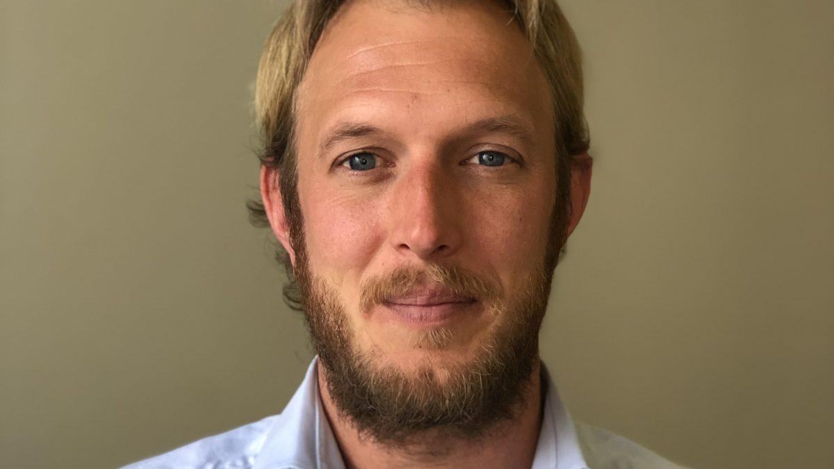 Sjoerd van Strijen (Biogen) in adviesraad Platform Marketing in Farma [portret]